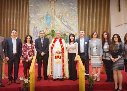 أحتفال خورنة مار توما الرسول الكلدانية في هاملتون / كندا / بمناسبة أسبوع الالام وعيد القيامة