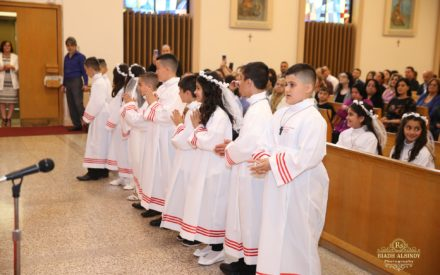 The First Holy Communion In Hamilton 2018